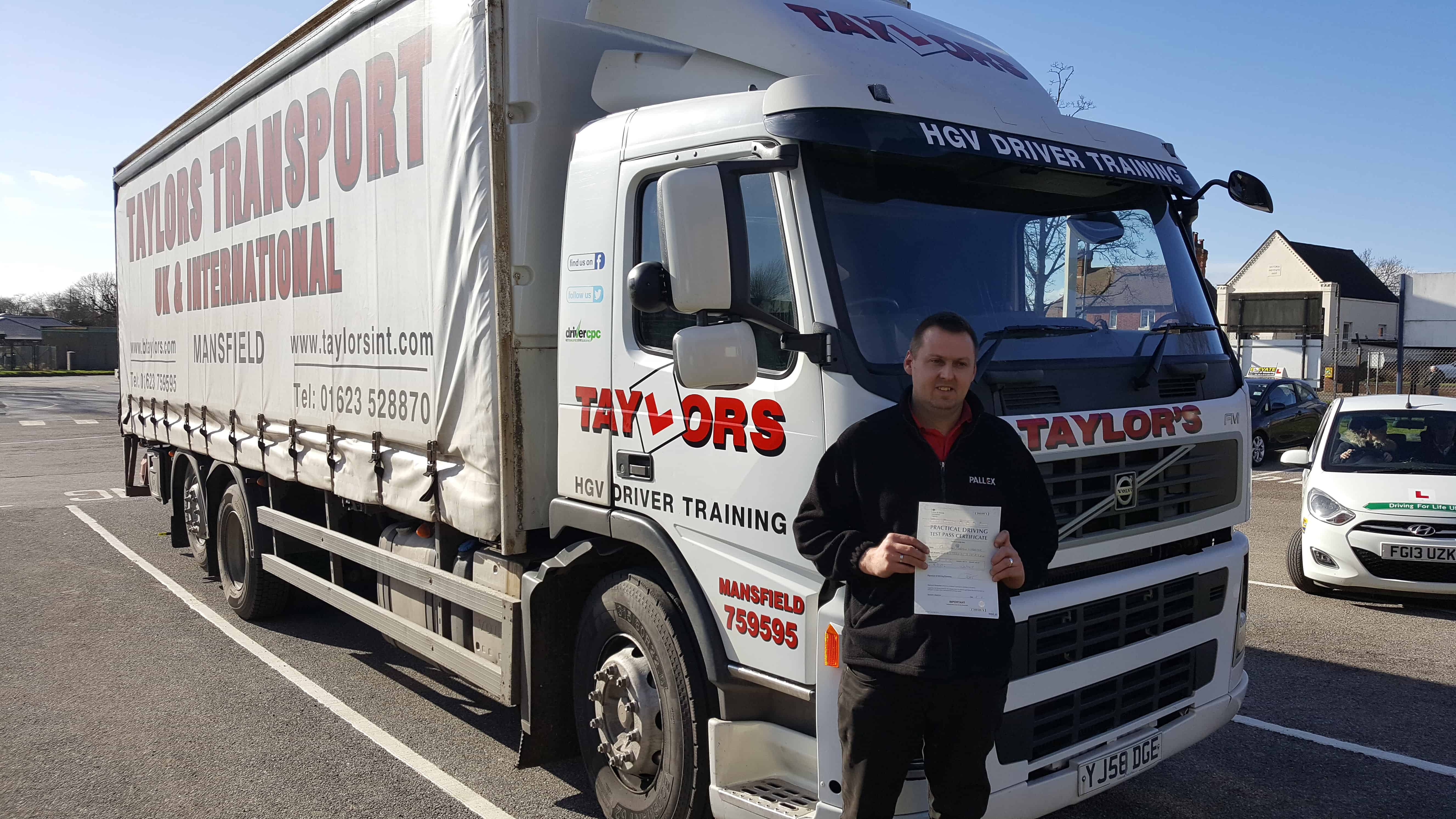 TAYLOR S SPONSORED DRIVER TRAINING Taylors Transport Group